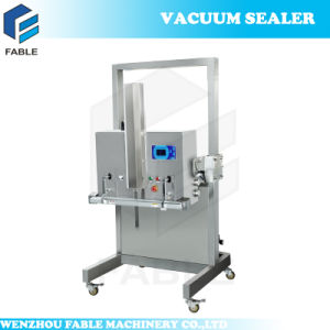 Plastic Bag Vacuum Sealing Packaging Machine for Sausage (DZQ-800OL) pictures & photos