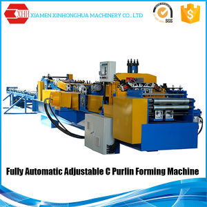 Full-Automatic Fast Speed C Cold Roll Forming Machine Automatic C Z Purlin Roll Forming Machine pictures & photos