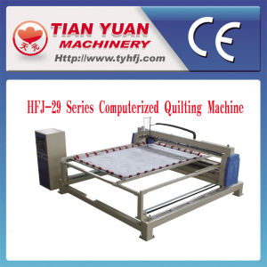 Made in China High Quality Single Head Computer Quilting Machine (HFJ-29) pictures & photos