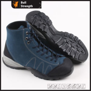 Suede Leather Ankle Safety Shoe with Steel Toe (SN5320) pictures & photos