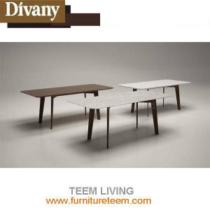 Latest Designs Modern Luxury White Wooden Dining Table pictures & photos