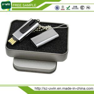8GB Mini Metal Rotating USB Flash Disk Drive pictures & photos