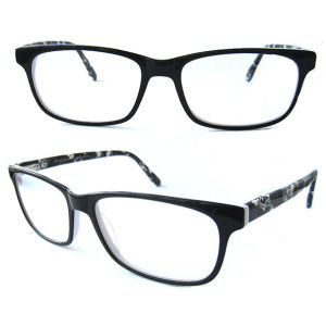 Superb Quality Newest Acetate Optical Frame Eyewear for Us Market pictures & photos