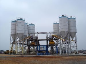 Hzs 180 Stationary Concrete Batching Plant (180m3/h) pictures & photos
