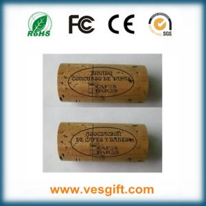 Cylinder Shape Wooden USB Flash Drive 2GB 4GB 8GB pictures & photos