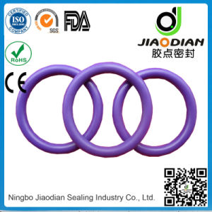 Fashion Design Light Green Viton 75 Duro as-568 with SGS Confirmed O-Ring for Sealing (O-RING-0127) pictures & photos