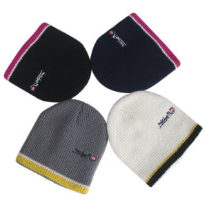 Wholesale Custom Winter Warm Knitted Beanie Supplier pictures & photos