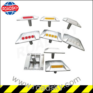 Waterproof Casting Aluminium Solar Road Stud with Cat Eye pictures & photos