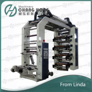 High Speed Eight Colour Polythene Printing Machine (CE) pictures & photos