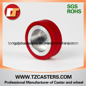 PU Wheel with Aluminum Center 90*20 pictures & photos