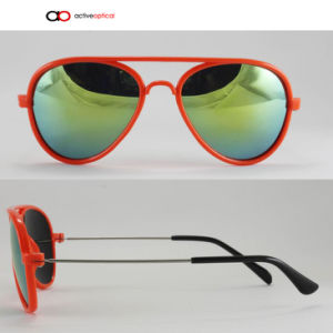 OEM Manufacturer Fashion Plastic $ Metal Baby /Kids Sunglass (k1146)