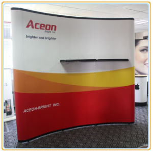 High Quality 10ft Aluminum Magnetic Pop up Display Stand pictures & photos