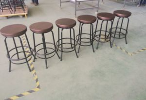 Good Quality Cheap Antique Comfortable Metal Barstool pictures & photos