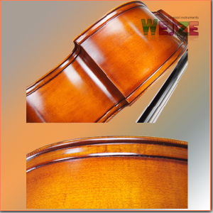 Advanced Master Contra Bass with Beautiful Flame pictures & photos