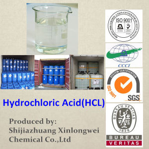 Industrial Grade Hydrochloric Acid 33% pictures & photos
