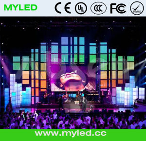 HD Indoor Fullcolor Big Video Stage LED Display Show pictures & photos