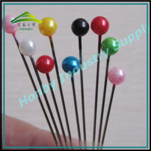 55mm Fashion Round Plastic Pearl Head Pins for Hijab Decoration