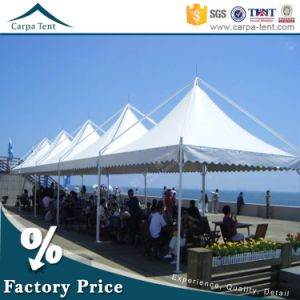 6X6 White PVC Wedding Marquee Tent with Pagoda Tent as Entrance pictures & photos