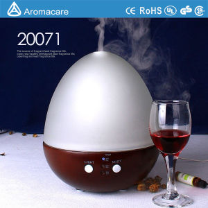 2016 Glass Cover Wood Base Aroma Diffuser (20071) pictures & photos