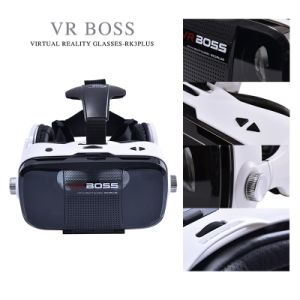 Factory Price Vr Boss 3D Glasses All in One Vr Box with Headphone and Microphone pictures & photos