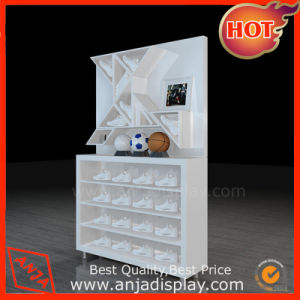 MDF Shoe Display Cabinet pictures & photos