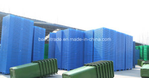 1100*1100*125 Plastic Tray Forklift Plastic Pallet for China pictures & photos
