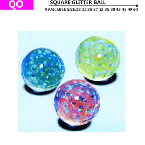 Its Square Glitter Bouncing Ball