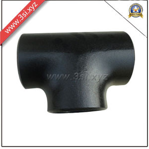 ANSI B 16.9 Bw Black Steel Seamless Equal Tee (YZF-L173) pictures & photos