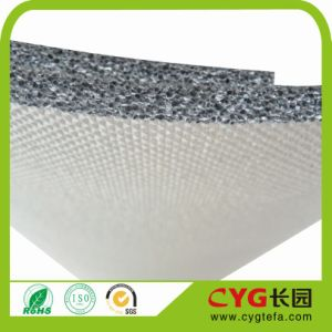 Backed Double Sided and Aluminum Foil Heat Insulation Foam for Roof Insulation pictures & photos