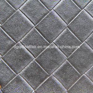 Weave Leather with High Quality Leather (QDL-53234) pictures & photos