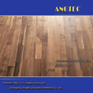3 Strips Walnut Engineered Wood Flooring pictures & photos