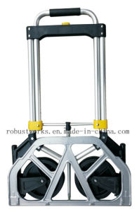 Foldable Aluminium Hand Truck (HT022G) pictures & photos