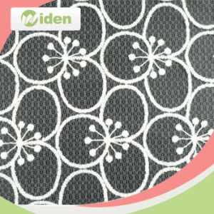 Austrian Embroidery Designs Flower Nylon Lace Fabric in Surat pictures & photos
