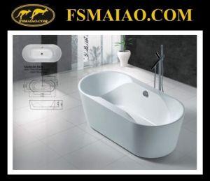 Acrylic Bathroom Freestanding Bathtub (BA-8508) pictures & photos