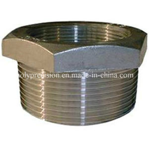 CNC Machined Stainless Steel Pipe Fitting Hexagon Bushing pictures & photos