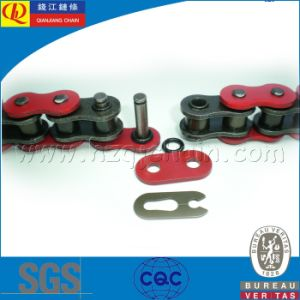530V Precision O-Ring Motorcycle Chain with Golden Plates pictures & photos