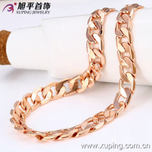Fashion Rose Gold Color Man Big Size Necklace (42288) pictures & photos