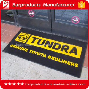 Anti Slip Rectangle Rubber Printed Floor Mat