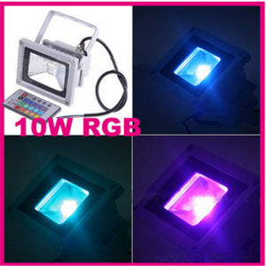 RGB Multicolor LED Flood Light CE, RoHS Approved pictures & photos