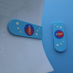 PVC Bookmark Embossed Company Logo PVC Bookmark Magnetic Bookmark pictures & photos