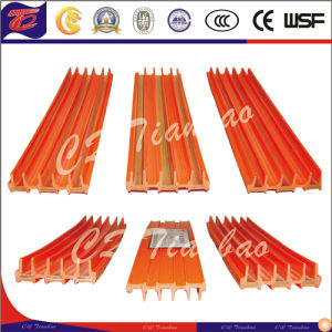 Safe Flexible Electrical Copper Conductor Rail Crane Busbar System pictures & photos