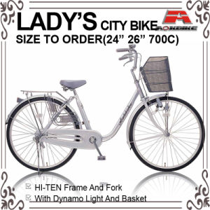 24 Inch Light Roadster City Lady Bicycle (AYS-2616S) pictures & photos