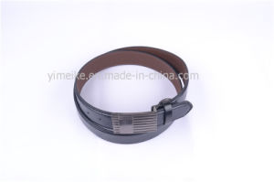 Hot-Selling Classical Snap Buckle Leather PU Belt for Man pictures & photos