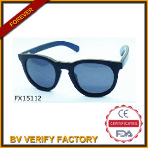 Trade Assurance Black Bamboo Sunglasses (FX15112) pictures & photos