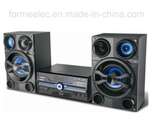 2.0CH DVD Boombox Micro System DVD Player Combo RMS 100W pictures & photos