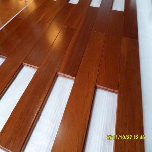 Prefinished Oil Stain Natural Tuan Solid Wooden Flooring pictures & photos
