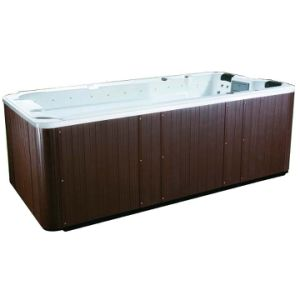 Outdoor Above Ground 4 Meter Swim SPA with Aristech Acrylic Shell pictures & photos