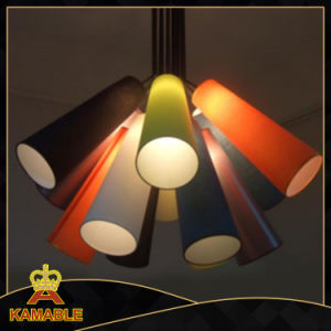Contemporary Iron Fabric Shade Pendant Lamps (KAMP5649-12) pictures & photos
