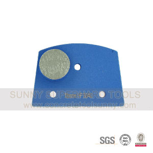 Quick Change Metal Bond Segmentabrasive Block Plate for Lavina Grinder Machine pictures & photos