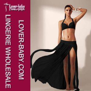 New Fashion Wrap Chiffon Swimwear Bikinis Cover Dress Skirt (L38247-2) pictures & photos